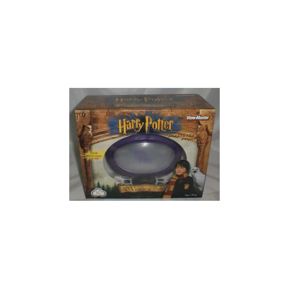Harry Potter View Master 3d Gift Set   Viewer and 3 Reels