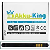 Akku-King Battery for Samsung Galaxy Ace 2 / GT-I8160 / S3 mini i8190 / S Duos S7562 / S7580- Li-Ion Replaces EB-425161LU / EB-L1M7FLU - 1700mAh