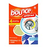 Bounce Dryer Bar, 4 Month-Fresh Linen, Plastic Clamshell (Pack of 2) ~ Bounce