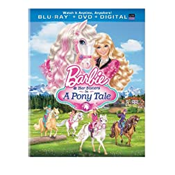 Barbie & Her Sisters in a Pony Tale (Blu-ray + DVD + Digital Copy + UltraViolet)