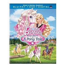 Barbie & Her Sisters in A Pony Tale (Blu-ray + DVD + Digital Copy + UltraViolet)
