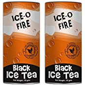 Teas Of All Nations Ice O Fire Black Tea Iced With Cinnamon Taste Loose Leaf Set Of 2 50 Gms Each
