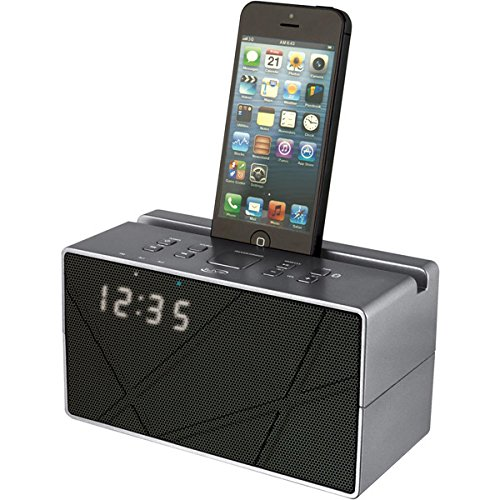Ilive Bluetooth Speaker With Clock - Retail Packaging - Black