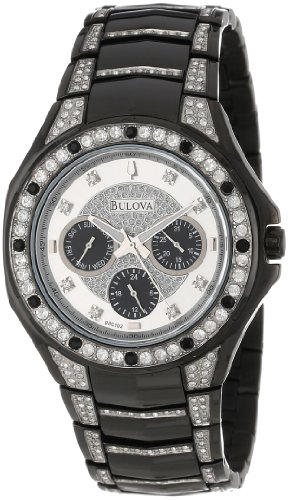 Bulova Men's 98C102  Crystal Bracelet Watch