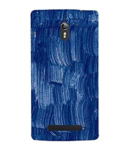 Brush Painting design 3D Hard Polycarbonate Designer Back Case Cover for Oppo Find 7