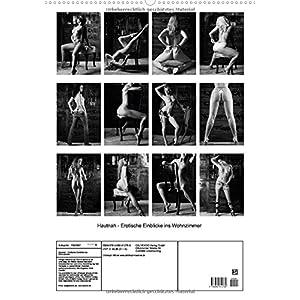 Hautnah - Erotische Einblicke ins Wohnzimmer (Wandkalender 2015 DIN A2 hoch): Schwarz