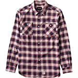 Diamond Supply Co Diamond Ombre Flannel Long-Sleeve T-Shirt Buttonup [Small] Red