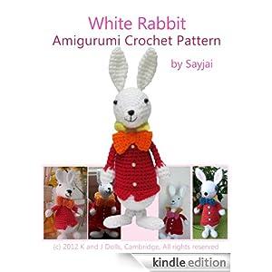 Crochet Doll Scarf Pattern Free : White Rabbit Amigurumi Crochet Pattern (Alice in ...
