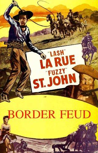 "Feud Film-Poster, 69 x 102 cm Lash LaRue Al ""Fuzzy St. John Duncan Bob"""
