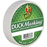 Duck Masking 240878 White Color Masking Tape, .94-Inch by 30 Yards