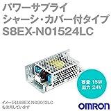 オムロン(OMRON) S8EX-N01524LC パワーサプライ(シャーシ・カバー付タイプ 15W)(AC100-240Vフリー入力/24V0.7A出力) NN