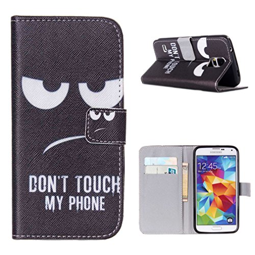 For Samsung 903 Galaxy S5 Neo Case , ivencase Funny Magnetic Style Wallet PU Leather Stand Flip Protective Cover Slim Fit Samsung 903 Galaxy S5 Neo + One