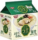 日清食品 日清ラ王 豚骨 5食パック 430g