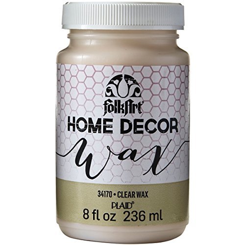 FolkArt Home Decor Wax (8-Ounce), 34170 Clear (Home Decor Chalk Paint compare prices)