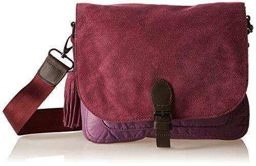 Bensimon F19078C42216, Borsa a spalla donna , Viola (Violet (0416 Violet)), Taille Unique
