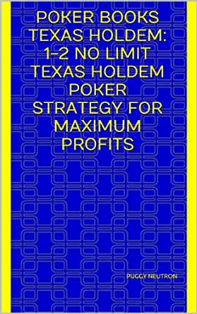 Texas holdem poker online strategy