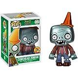 Pop Plants Vs Zombies: Metallic Conehead Zombie SDCC 2013 Exclusive