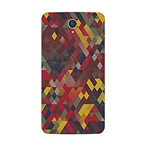Garmor Designer Plastic Back Cover For Lenovo A850