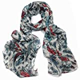 Neck Scarf, Floral soft printed scarves