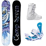 NEW Camp Seven 2014 Mystic Snowboard Package + Siren Mystic Bindings + Flow Vega Lace... by Camp Seven