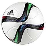 adidas Conext 15 Top Glider Soccer Ball, White/Blue/Green, Size 5
