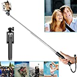 "Neewer® 7""-31""/18cm-80cm U-Shape Self-portrait Monopod Extendable Selfie Stick with Built-in Bluetooth Remote Shutter for iPhone 6 Plus/6/5s,Samsung Galaxy S6/S5,Android -Black"