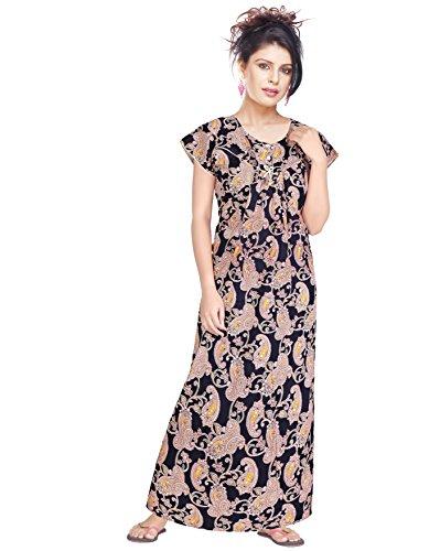 Satyam Women Large Size 100% Soft Mercerised Cotton Nighty Price in India  8fca66aaf