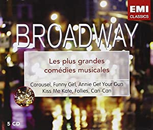 Broadway : Les Plus Grandes Comédies Musicales (Coffret 5 CD)