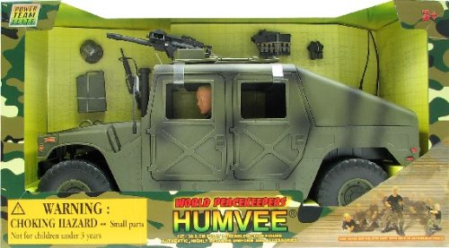 Buy Low Price M & C Toy Power Team Elite: 1:6 Scale Large Humvee Vehicle Figure (B0006N8XR8)