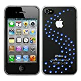 Bling My Thing iPhone 4S/4 Milky Way Capri Blue