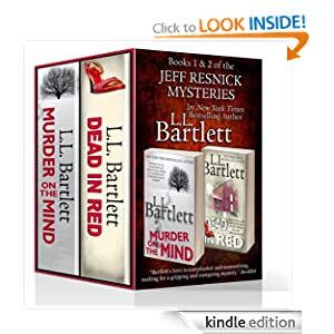 The Jeff Resnick Mysteries Volume I (Murder On The Mind and Dead In Red) L.L. Bartlett