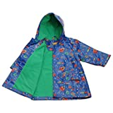 IM Link Pluie Pluie Blue Outerspace Lined Boys Raincoat Outerwear 12M-8