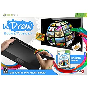 uDraw Game tablet with uDraw Studio: Instant Artist $30