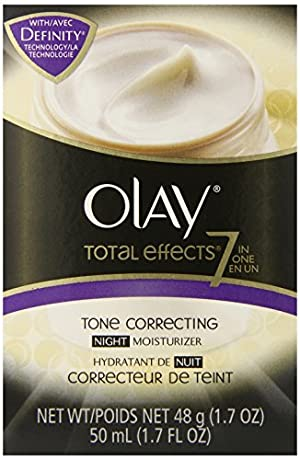 Olay Total Effects 7-In-1 Tone Correcting Night Moisturizer, 1.7 fl