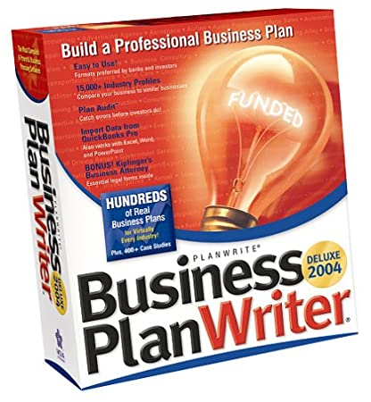 Business Plan Writer Deluxe 2004
