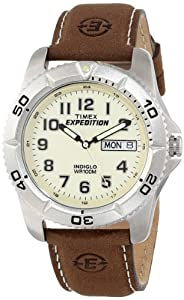 "Timex Men's T466819J ""Expedition"" Watch with Leather Strap"
