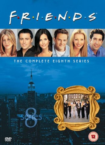 Friends: Complete Season 8 – New Edition [DVD]