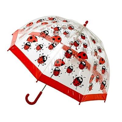 Bugzz Clear PVC Umbrella (Ladybug Umbrella)