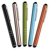 Mobilinyi 5 Stück Premium Eingabestift Touchstift Stylus für iphone 6