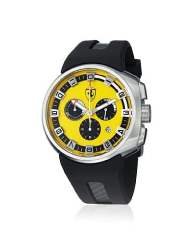 Ferrari Men's FE10ACCCGFCYW F1 Podium Black/Yellow Rubber Watch