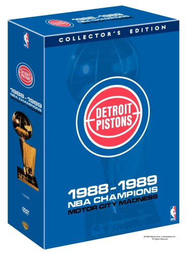 Detroit Pistons: 1988-1989 NBA Champions - Motor City Madness at Amazon.com