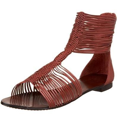 Amazon.com: Vince Camuto Women's Saffron Flat Sandal,Curry,5 M US