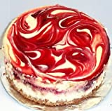 """Scott's Cakes 8"""" Cherry Swirl Cheesecake"""