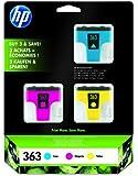 HP 363 - Print cartridge - 3 x yellow, cyan, magenta