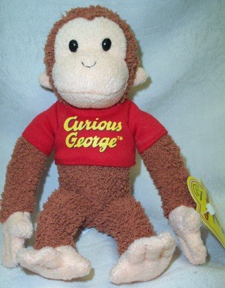 "Curious George Medium by Applause 10"" - 1"