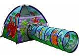 Pacific Play Tents Dino Dome Tent & Tunnel Combo