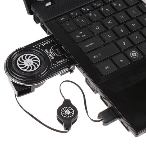 Mini Vacuum Usb Air Extracting Cooling Fan Cooler For Notebook Laptop front-207251