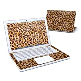 Leopard Spots Design Skin Decal Sticker for Apple MacBook 13 inch (Black or White Polycarbonate w/SEPARATE TRACKPAD)