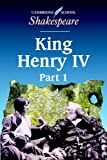 William Shakespeare King Henry IV, Part 1