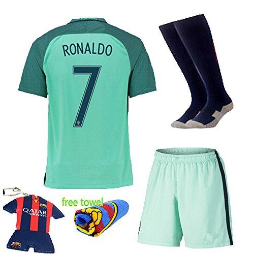 2a3b74fd06e Soccer Kids 2016-2017 Portugal Away Football Soccer Kits - Import It All